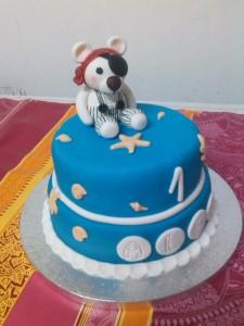 Tarta oso pirata marina (3)