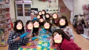 niñas cara cupcake