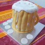 tarta tallada cerveza