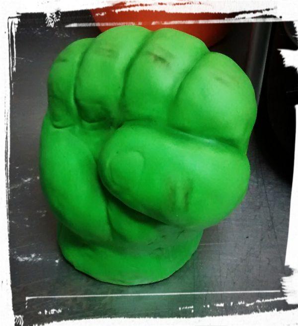Tarta puño Hulk