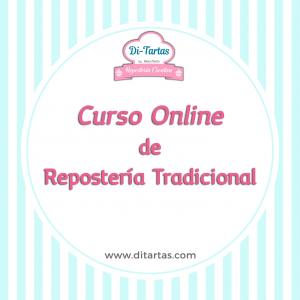 curso online reposteria tradicional ditartas