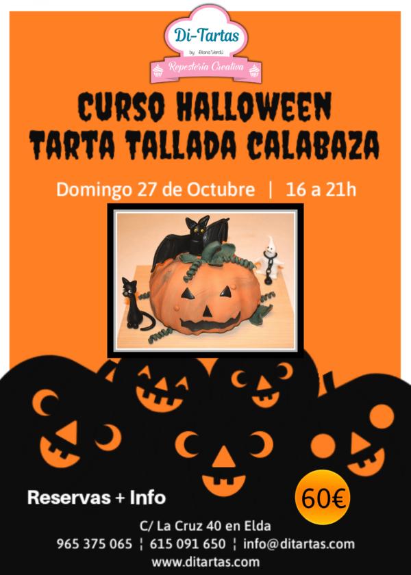 Curso calabaza Halloween 19 ditartas